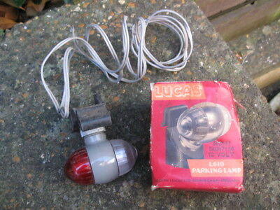 Classic Lucas L610 Parking Light.54057136.classic Car/commercial.new Old Stock.