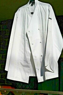 CHEF'S J B's WEAR JACKETS x 2, APRONS, HAT & SCARF NEW COND.. Size  14-16..