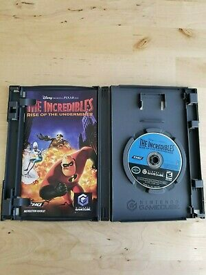 Disney-Pixar The Incredibles: Rise of the Underminer (Nintendo GameCube, 2005)