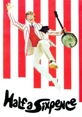 Half A Sixpence Movie Dvd.tommy Steele.great Quality Picture And Sound