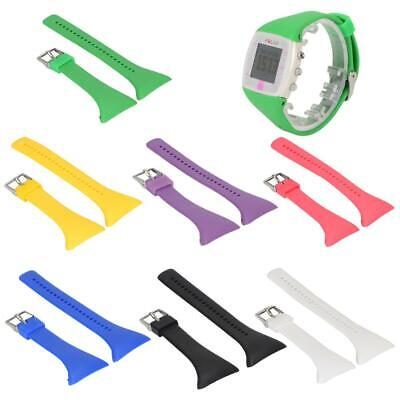 Silicone Watch Band Wrist Strap For POLAR FT4 FT7 Watch Replacement Adjustable