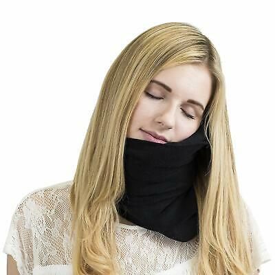 GENUINE TRTL Pillow Scientifically Proven Super Soft Neck Support  **BLACK**