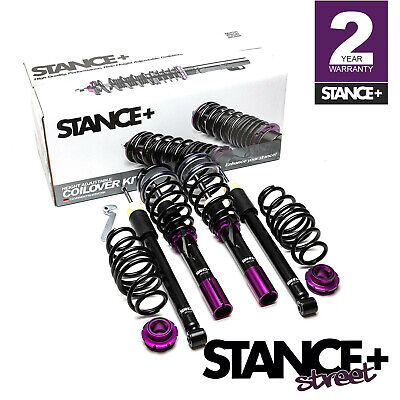 Stance+ Street Coilovers Suspension Kit VW Polo Mk6 1.0 1.6 TDi 2.0 GTi Solid