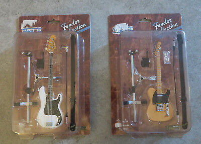 SD TOYS FENDER COLLECTION 1/6 SCALE SERIES MINI FENDER Telecaster+BASS PRECISION