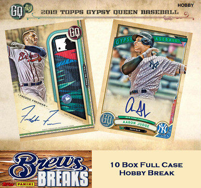 Toronto Blue Jays 2019 Topps Gypsy Queen Baseball 10 Box Full Case Break #1
