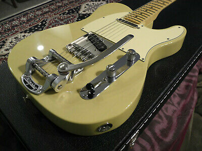 Fender Telecaster American Special Electric Guitar Bigsby Lollar Callaham 2015