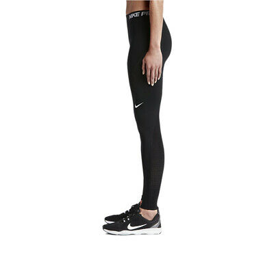 Nike PRO HYPERCOOL Women's Tights Fitness Yoga Crossfit Gym Compression - Black