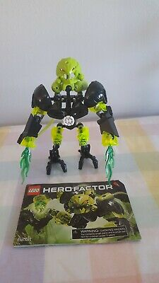 Lego Hero Factory Villains 6201 Toxic Reapa Complete Figure W