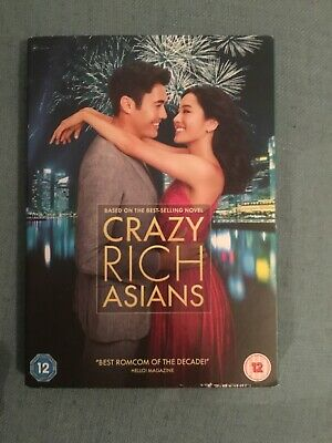 Crazy Rich Asians dvd watched once in card cover still