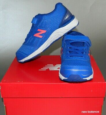 b0d820128ab57 New Balance Kids' 680V5 Hook and Loop Running Shoe Sneakers Size 10 US  Pacific