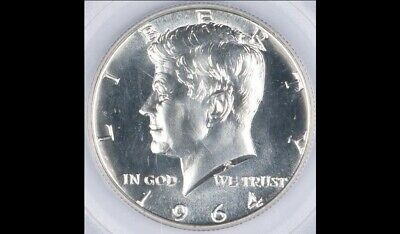 """1964 P Kennedy Half Dollar US Coin """"About Uncirculated"""""""