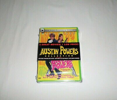 Austin Powers Collection DVD Set: Man Of Mystery/ Spy Who Shagged Me/ Goldmember