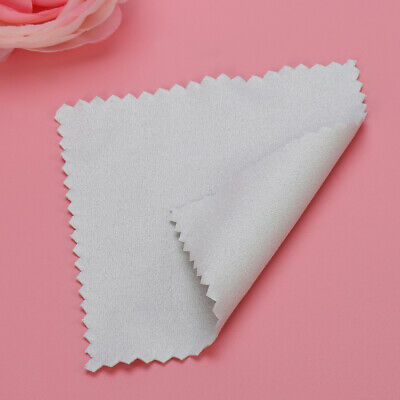 10pcs 8x8cm Jewelry Cleaning Polishing Cloth for Sterling Silver Gold
