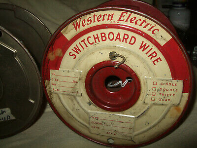 Western Electric Switchboard Wire and Other Wire