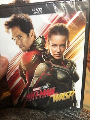 Ant-Man & The Wasp DVD New & Sealed Free Shipping Included!