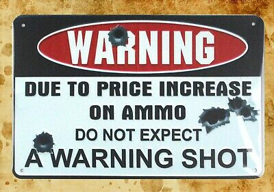 US Seller- do not expect a warning shot metal sign room decoration design
