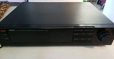 Yamaha C-80 Natural Sound Stereo Preamplifier used tested