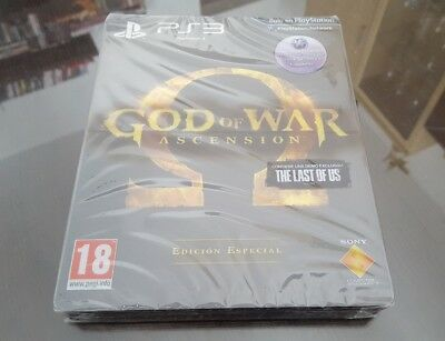 god of war ascension PRECINTADO  ps3 edición coleccionista