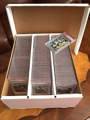 10 Graded Sports Card Storage Boxes - Holds 195 Cards.  NO CARDS ARE INCLUDED!