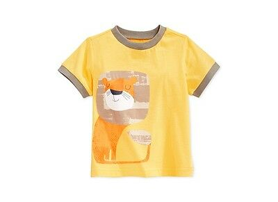 New With Tags First Impressions Boys 6-9 Month Lion Short Sleeve Tee
