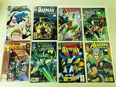 Signed DC Comics Lot Batman Robin Green Lantern Est. Value $305 Autographed