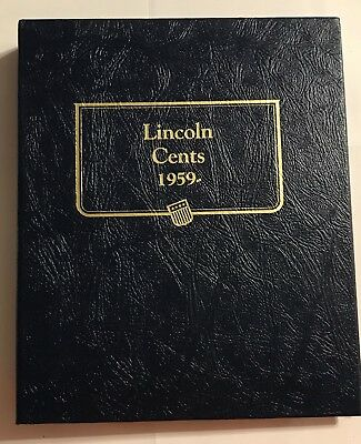 Lincoln Head Cents (1959-1995) Whitman Classic Coin Album  #9141 - New