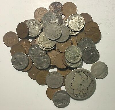 Estate Lot ***71 Old U.s. Coins Plus Type 1 Buff***  L@@K At Pictures!!!!!  #903
