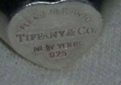 Please Return To Tiffany & Co New York 925 Signet Ring Size 6.5 - 7.