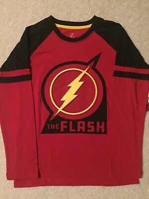 THE FLASH JUSTICE LEAGUE movie Comic Book New BOYS Youth LONG SLEEVE T-Shirt