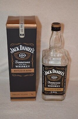 Jack Daniels Bottled in Bond 100 Proof Traveler's Exclusive With Box