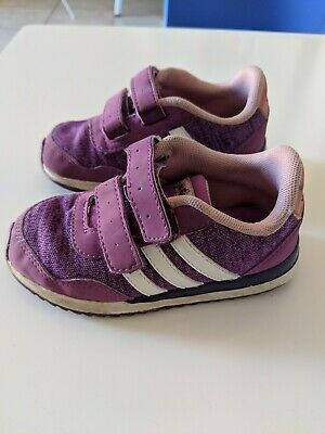 Adidas Neo Toddler Shoes Purple Size 7