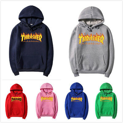 New Women Men's Lover Hot Hip Hoodie Sweater Hooded Trasher Fashion Sweatshirt