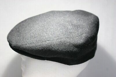 ef5f1fa5 Country Gentleman Newsboy Wool Polyester Cap Hat Size Large Made In Italy