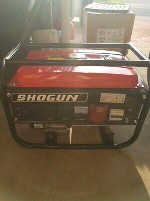SHOGUN Gasoline Generator brand new, never used suitable for camping and outdoor