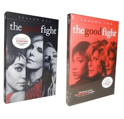 The Good Fight - Complete Seasons 1 & 2 (DVD, 2018, 7-Disc Set)