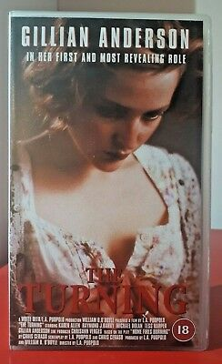 Rare Gillian Anderson Movie - The Turning (VHS 1999) Cert 18. Scully The X Files