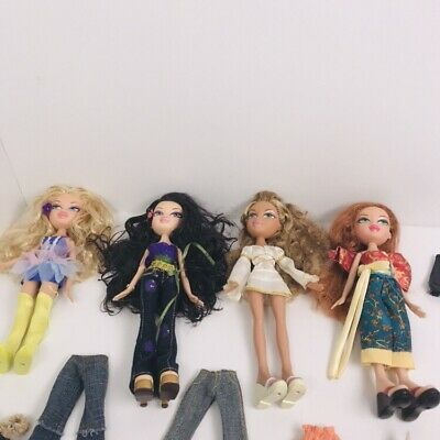 BRATZ Dolls With Clothes And Shoes Bundle Accessories. #G