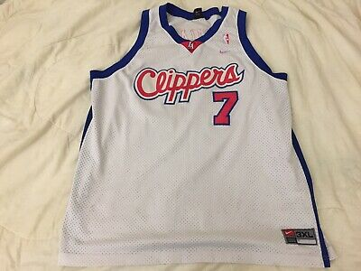 796c1113c11 Lamar Odom Los Angeles Clippers Authentic Jersey 3XL 56 Champion  Embroidered NBA