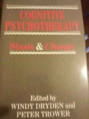 Cognitive Psychotherapy Stasis and Change.Hardback.Dryden and Trower.