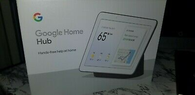 Google Home Hub with Google Assistant - Charcoal - GA00515-US - NEW!
