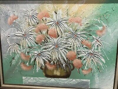Framed Original Oil on Canvas Painting by Frank Ferrante