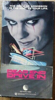 Dead End Drive-In (VHS 1986 New World) Ned Manning~Horror