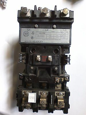 Allen Bradley Starter 509 Dod (Includes Aux Contacts/Overload Relay)
