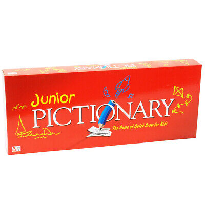 Kids Junior Pictionary Board Game Draw Guess Family Party Game Educational Toy