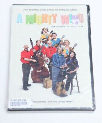A Mighty Wind (DVD) Free Shipping Sealed New