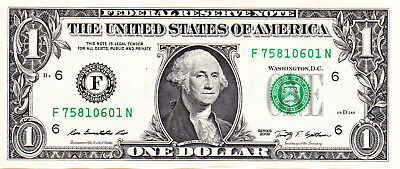 USA $1 / Mint F / 2009 / Unc condition.