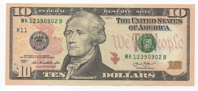 USA $10 / Mint K11 / 2013 / Unc condition.