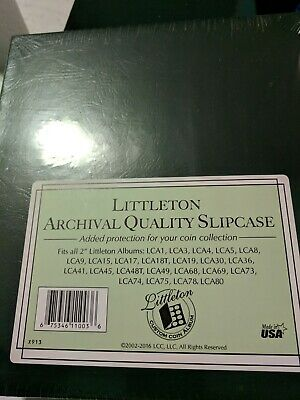 Responsible Littleton Coin Album Page For Us Lincoln Cents Update For Lca19 Archival Quality Other Coin & Money Supplies Coins & Paper Money