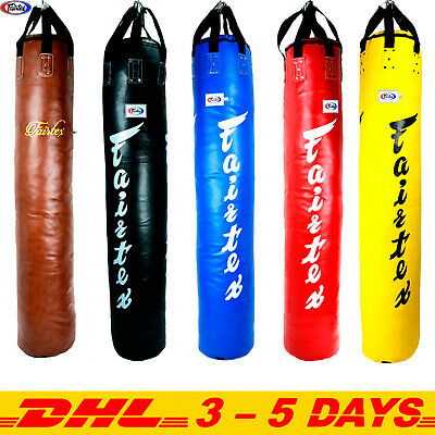 HEAVY BAG FAIRTEX HB7 7 FEETS  MUAY THAI MMA K1 SHIPS BY DHL EXPRESS UN-FILLED