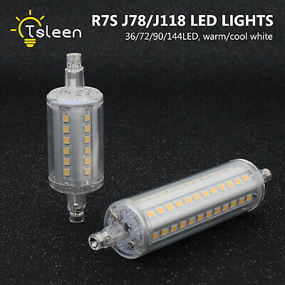 smd2835 j78/j118/j135 r7s led bulb show-room light halogen lamp replacement 496